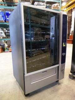 2014 Crane Merchandising Vending Machine, Model 1870, 115V, Single Phase, S/N 187-016538, Accepts Coins and Bills, * Working Condition Unknown*