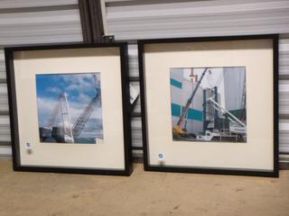 "(2) Box Framed Prints, 20 1/2"" x 20 1/2"" (WW)"