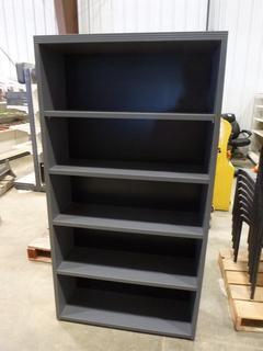 "Shelving Unit w/ 4-Movable Shelves, 36""x12 1/4""x68"""