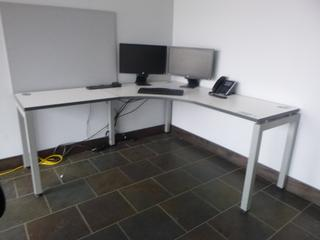 "Corner Desk, 72"" x 67"" *NOTE: Desk Only* (W1-2-1)"