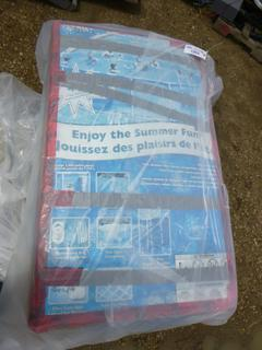 """Summer Escapes 19' x 52"""" Framed Pool w/ Accessories ( Skimmer Filter System, Ground Cloth, Maintenance Kit, Cover, Ladder, Filter, Cartridges) (WR1)"""