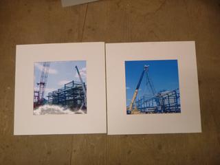 """(2) Matt Prints, 19.75"""" x 19.75"""" * No Frames * (SW)"""