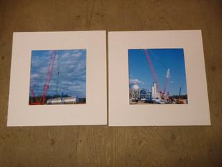 """(2)Matt Prints, 19.75"""" x 19.75"""" *  No Frames * (SW)"""