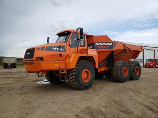 2011 Doosan Moxy MT41 Rock Truck c/w A/C, Cab, Back Up Camera, Positive Air Shut Off, DINDMT41H40810445 *Located In Lloydminster, AB, Contact Connor For More Details 780-218-4493*