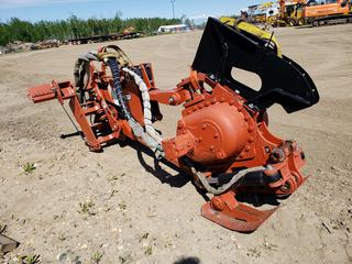 2007 Ditch Witch H932 Vibratory Cable Plow Attachment c/w John Deere 450J/650J mounting bracket