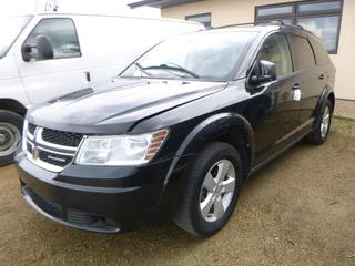 "2011 Dodge Journey c/w Dual VVT 2.5L, A/T, A/C, AWD, Showing 230,572 KMS, 115"" W/B, 225/65R17 Tires At 75%, 1,248KG Axle Rating, Keyless Star, VIN 3D4PG4FB3BT550148 *NOTE: No Start, May Require Boost To Start*"