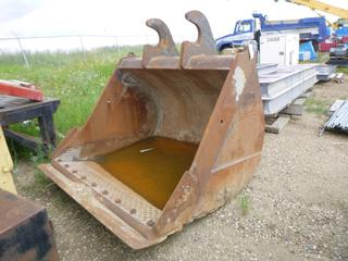 "Weldco-Beales MFG  3 Yard Ditch Bucket, Width 72"", S/N W0.001214-12, (To Fit Excavator)"