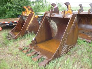 "54"" Digging Bucket, Fits WBM 350/400 Series and 24"" Spacing"