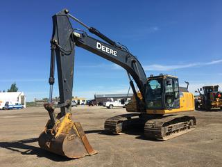 2013 Deere 210G LC Excavator S/N 1FF210GXPDD521223 Showing 6466 Hours.