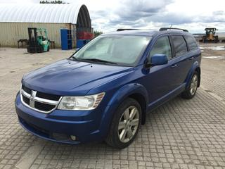 2009 Dodge Journey SXT AWD SUV c/w V6 3.5L, Auto, A/C, Sun Roof, Rear LCD Monitor. Showing 142,819 Kms. S/N 3D4GH57V29T221950