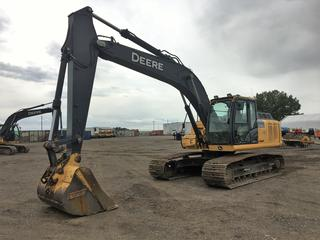 2013 Deere 210G LC Excavator S/N 1FF210GXPED521983 Showing 5511 Hours.