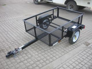 2017 Carry On Trailer Corp. S/A Utility Trailer S/N 4YMBU0517HN018425.