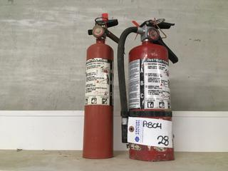 (2) Fire Extinguishers.