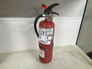 (1) Fire Extinguishers.