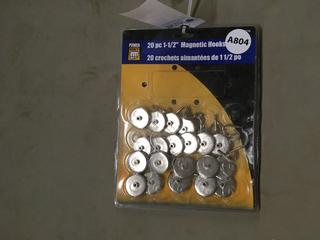 Power Fist 20 Piece Magnetic Hooks.