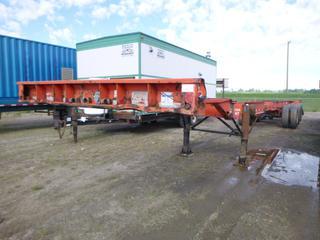 1997 MFM Industries 48ft-53ft Tridem Container Chasis. VIN 2TJCX0339V1000439