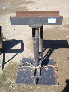 """XX""""  x 25"""" Adjustable Welding Table"""