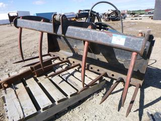 Bobcat Hydraulic Pipe Grapple