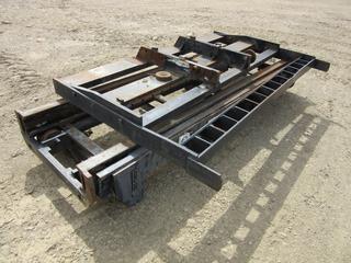 Sellek 10,000lb Forklift Mast Assembly. SN 3782912