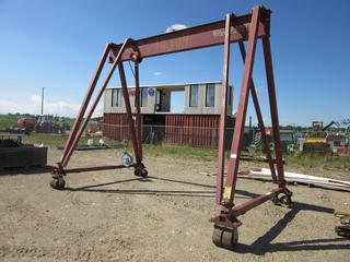 16'W X 12'H X 10'D 10-Ton Wallace Tri Adjustable Gantry Crane
