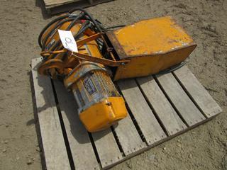 Kito 220/440V 3-Phase 3-Ton Electric Crane Hoist
