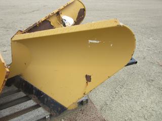 Trackless Vehicle Ltd Model V3 V-Blade Plow. SN 448