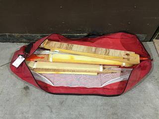 Wooden Splint Set in Bag.