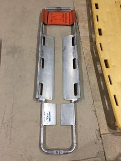 Aluminum Scoop Stretcher.
