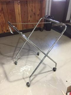Metal Rolling Stand.
