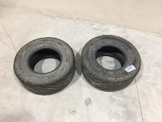 (2) Afterburn Street Force AT25x10R12 Tires.