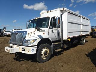 "2007 International 7400 SBA 4X2 Garbage Truck c/w Diesel, A/T, A/C, Showing 232,590 KMS, 20,670 Hours, 650"" W/B, 11R22.5 Tires At 60%, Back Up Camera, 2006 Labrie, SN TS06106NYS, VIN 1HTWCAAN97J400129, CVIP 03/20 (Fichtenberg/Higher Ground Acreage Dispersal)"