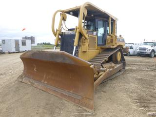 "2004 Caterpillar D7R XR Series II Dozer c/w 3176C Diesel, Showing 15,704 Hours, Hydrostatic, S/S Ripper, SBG, Undercarriage 50%, 13'5"" Blade, SN AGN00649"