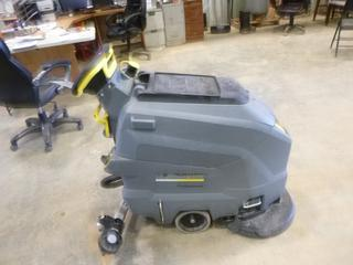 (1) Karcher BD 50/50 Classic Floor Cleaner, S/N 10014, C/w Battery Charger  (Working Condition Unknown)