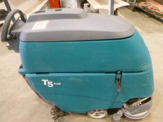 (1) Tennant T5 Fast Floor Cleaner, C/w Charger, S/N T5-10315714 (Working Condition Unknown)