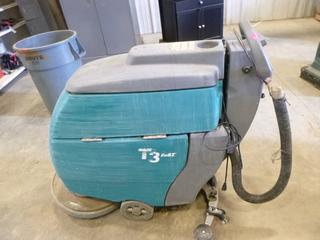 (1) Tennant T3 Floor Cleaner, C/w Charger, S/N 90094-10318840 (Working Condition Unknown)