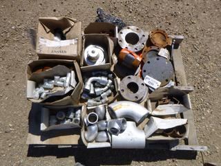 Assorted Fittings, Valves and Blanks, (WR-2)