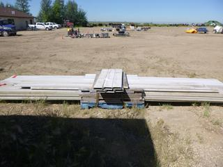 Pallet of Fiberglass Deck Boards, Assorted Sizes, (WR-5)