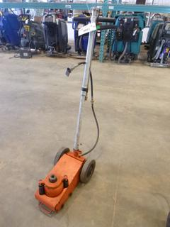 Air Bottle Jack, Model EQ728C, SN F1490172 *NOTE: Working Condition Unknown*, (WR-2)