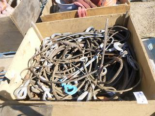 Qty of Assorted Wire Rope Slings, (WR-2)
