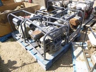 Qty of Trash Pumps *NOTE: Running Condition Unknown*, (WR-2)