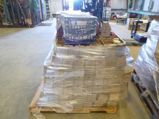 Pallet of Raymond Forklift Repair Parts