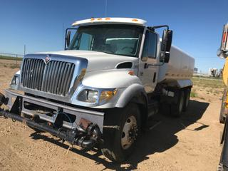 Selling Off-Site -  2007 International 7000 Series Water Truck ( Tank Leaks) Without Air Suspension Vin# 1HTWGAAT77J480176 Showing 40,693Km. County of 40 Mile Equipment, Located In Foremost, AB. Inquiries and viewing appointments please call (403) 867-3940, Monday through Friday 7:00 am to 4:30 pm