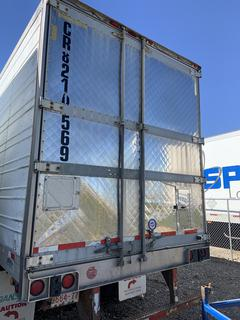 Selling Off-Site -  2002 Wabash Trailer 53' Dry Van TA Trailer  VIN 1JJV482W32L817840,  Current CVIP expires 10/2020, GVWR 68,000 lbs *Note Reefer not included. Located offsite at 11000 - 114 Avenue Southeast, Rocky View County, AB - Unit can be delivered Call Tim 403-968-9430 for quote