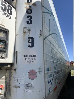 Selling Off-Site -  2002 Wabash Trailer 53' Dry Van TA Trailer  VIN 1JJV532W83L819231, GVWR 68,000 lbs *Note Reefer not included. Located offsite at 11000 - 114 Avenue Southeast, Rocky View County, AB - Unit can be delivered Call Tim 403-968-9430 for quote
