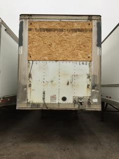 53' T/A Van Trailer c/w Air Ride Susp., 11R22.5 Tires. No Serial Number Available.