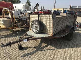 6'x10' S/A Ball Hitch Utility Trailer Note:  No VIN # Available.