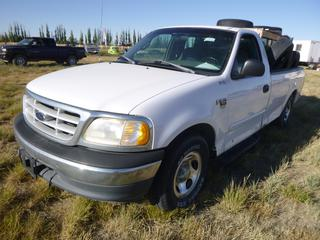 *SELLING OFFSITE COALDALE, AB* 1999 Ford F150 XL c/w 4.6L V8, Auto, AC. Showing 337,092 Kms. S/N 2FTRF17W2XCA07508.