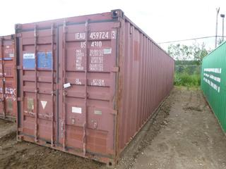 40' Seacan C/w Contents *NOTE: Minor Dents and Holes* **Buyer Responsible for Load Out**