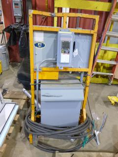 Propak Systems Low Voltage Distribution, Primary - 600 Volt 3 Phase 60 HZ, Secondary - 208/120 Volt 4 Wire, 15 KVA System