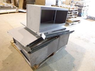 Cubicle Desk Overhead Storage